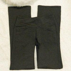 NWOT Athleta Heather In Fusion Gray Yoga Pants